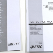 Imetec Iron Max Eco Professional 2700 accessori