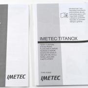 Imetec Titanox K116 accessori