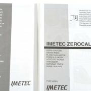 Imetec Zerocalc K3 2300 accessori