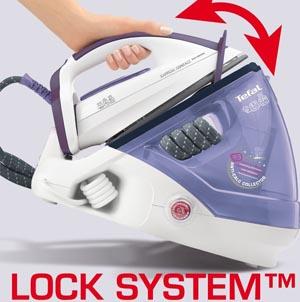 Tefal GV7630 lock system
